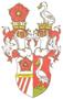 Jméno : ze Švamberka, Petr - barevný rodový erb - převzato: 'Genealogické a heraldické listy 2-3; 2000 (kresba: Karel Chobot)'