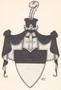 Rod : Lobkovicové (rod) - původní erb Lobkoviců - převzato: 'Genealogické a heraldické listy 4 (kresba Michal Cyrany)'