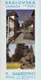 Název : Pražský hrad : Královská zahrada - úvodní strana