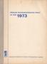 Název : Přehled restaurátorských prací za rok 1973