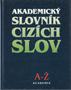 Název : Akademický slovník cizích slov - vazba