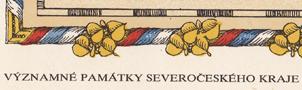 Název : Významné památky Severočeského kraje - logo
