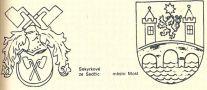 Heslo : znak - ukázka mluvících znaků - kresba akad. arch. Antonín Kryl