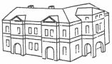 Heslo : rizalit - rizalit - kresba akad. arch. Antonín Kryl