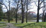 Zámek : Horšovský Týn - pohled na zámek od severozápadu - foto z 9. 4. 2007