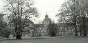 Zámek : Hořovice, nový zámek - pohled na zámek z parku - foto z r. 1962