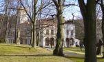 Zámek : Kamenice - pohled do parku se zámkem - foto z 21. 1. 2007