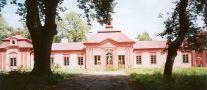 Zámek : Bon Repos - pohled na zámek - foto z VII. 2005