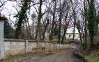 Zámek : Loučeň - pohled na zámecký areál od jihozápadu - foto z 24. 2. 2007
