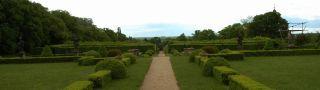 Zámek : Lysá nad Labem - francouzský park - foto z 15. 5. 2005
