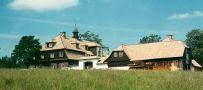 Zámek : Nová Louka - pohled na zámeček - foto z léta 1995