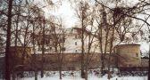 Zámek : Březnice - zimní pohled na zámek - foto z ledna 2004
