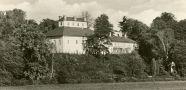 Zámek : Ratibořice - pohled na zámek - pohlednice z pol. 20. st. (soukromá sbírka)