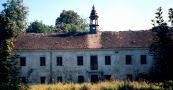 Zámek : Rtišovice - areál zámku - foto z r. 1998