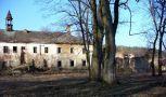 Zámek : Rtišovice - pohled na zámek od jihu z parku - foto z 18. 2. 2007