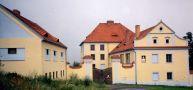 Zámek : Růžkovy Lhotice - pohled na zámek - foto z r. 1998