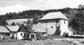 Tvrz : Sudkův Důl - pohled na tvrz - foto ze 70. - 80. let 20. st.
