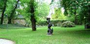 Palác : Šternberský palác - palácová zahrada - foto z 18. 5. 2006
