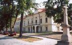 Zámek : Těšany - pohled na zámek od jihozápadu - foto z 4. 9. 2004