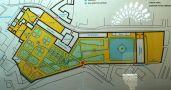 Palác : Valdštejnský palác - orientační plánek areálu - foto z 3. 4. 2005