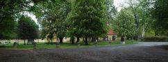 Zámek : Zbraslav - pohled do parku - foto z 18. 5. 2005
