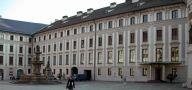 Objekt : Nový palác - pohled z II. nádvoří - foto ze září 2005