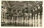Objekt : Nový palác - Španělský sál v severním křídle, pohled od východu - pohlednice kolem r. 1928 (soukromá sbírka)