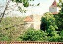 Objekt : Daliborka - pohled z Královské zahrady - foto z r. 1995