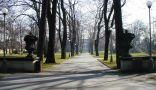 Prostranství : Královská zahrada - pohled do zahrady - foto z poč. 21. st.