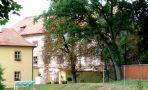 Hrad : Dobříš, Vargač - pohled od hřbitova - foto z 16. 7. 2006