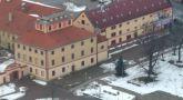 Zámek : Hostivice - letecký pohled na zámek od jihovýchodu - foto z 26. 2. 2010