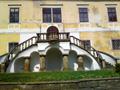 Zámek : Chotěboř - schodiště v ose jižního průčelí zámku - foto z 19. 4. 2014