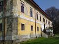 Zámek : Chotěboř - jižní zámecké průčelí, pohled od jihozápadu - foto z 19. 4. 2014