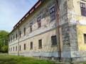 Zámek : Chotěboř - západní zámecké průčelí - foto z 19. 4. 2014