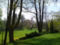 Zámek : Chotěboř - jihozápadní část zámeckého parku - foto z 19. 4. 2014