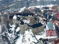 Hrad : Loket - letecký pohled na hrad od severozápadu - foto z 26. 2. 2010