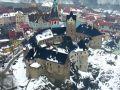 Hrad : Loket - letecký pohled na hrad od severovýchodu - foto z 26. 2. 2010