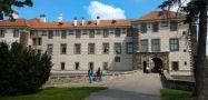 Zámek : Nelahozeves - pohled na zámek od západu - foto z 22. 5. 2017