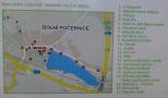 Zámek : Dolní Počernice - plánek zámeckého areálu - foto z 5. 4. 2010