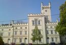 Zámek : Filipov - východní zámecké průčelí - foto z 19. 4. 2014