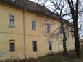 Zámek : Horoměřice - západní nároží severního průčelí zámku - foto z 3. 2. 2018