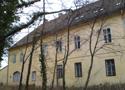 Zámek : Horoměřice - východní nároží severního průčelí zámku - foto z 3. 2. 2018