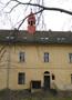 Zámek : Horoměřice - střední část severního průčelí zámku s vížkou - foto z 3. 2. 2018