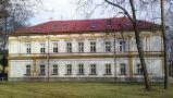 Zámek : Hostavice - západní průčelí zámku - foto z 27. 2. 2017