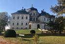 Zámek : Chlumec nad Cidlinou - pohled na zámek od severu - foto z 14. 10. 2018