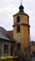 Zámek : Braník - nárožní věž, podled od východu - foto z 23. 1. 2018