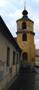 Zámek : Braník - nárožní věž, podled od jihovýchodu - foto z 23. 1. 2018