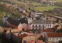 Hrad : Broumov - pohled na klášter od jihu - neznámý autor a čas