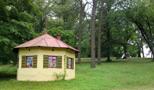 Zámek : Břežany - novodobí altán v severní výběžku parku - foto z 16. 6. 2014