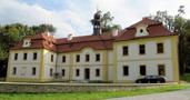 Zámek : Radovesnice - pohled na zámek od severu - foto z let 2012-2018 (převzato: Marek Bauer)